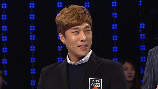 """김동성: '1대100' 김동성 허세작렬 센스 입담에 정인영 아나 """"팬이었는데"""
