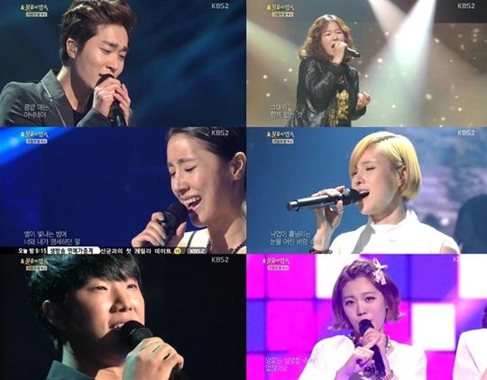 불후의 명곡, 김진호, 휘성