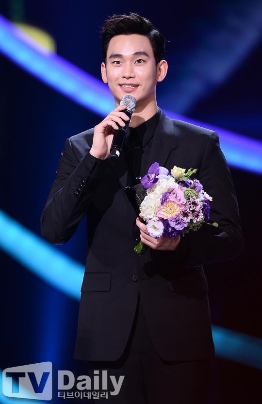 2014 코리아드라마어워즈 김수현 대상 수상