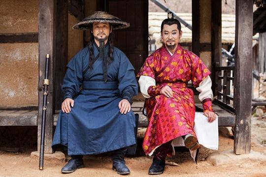 박혁권 육룡이 나르샤 길선미(왼쪽) 길태미(오른쪽)