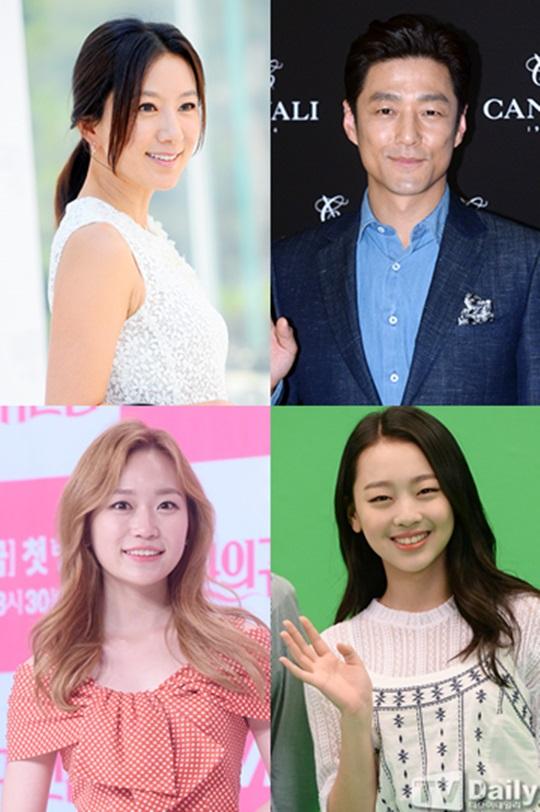 (왼쪽 위부터 시계방향) 김희애 지진희 이수민 김슬기
