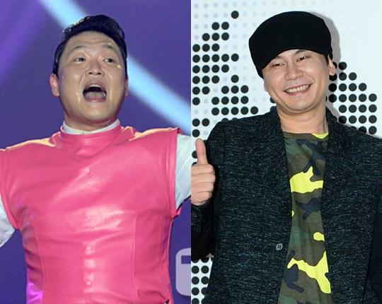 싸이 YG엔터테인먼트 대표 프로듀서 양현석