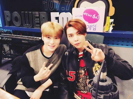 NCT 127 재현(왼쪽) 쟈니(오른쪽)