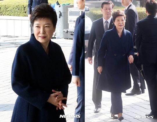 박근혜 생중계 송구스럽다 박근혜 검찰 소환