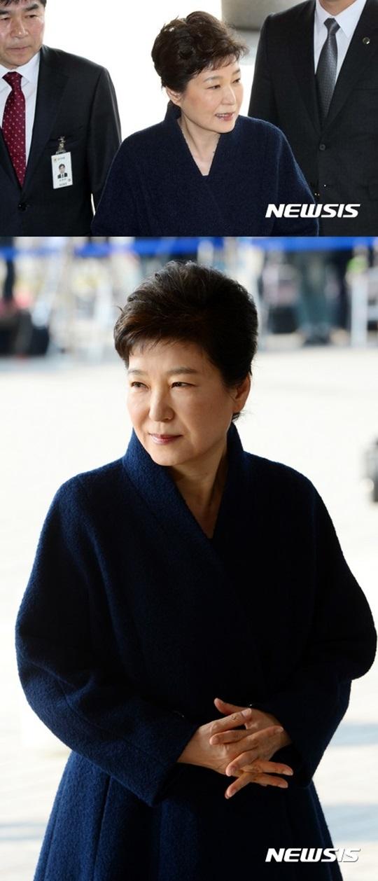 박근혜 점심 메뉴 박근혜 검찰 출석 피의자 박근혜 전 대통령
