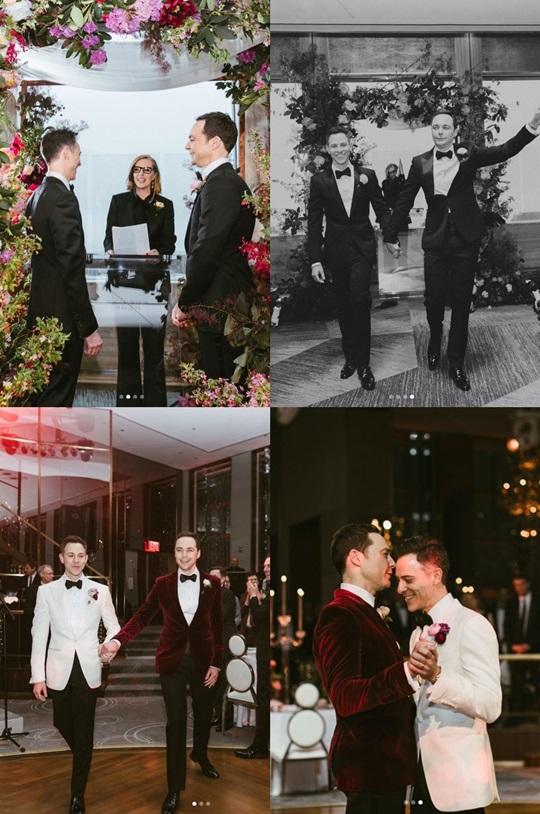 짐 파슨스 결혼