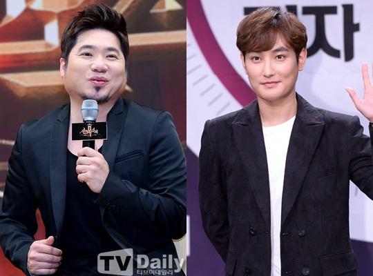 김조한(왼쪽) 강타(오른쪽)