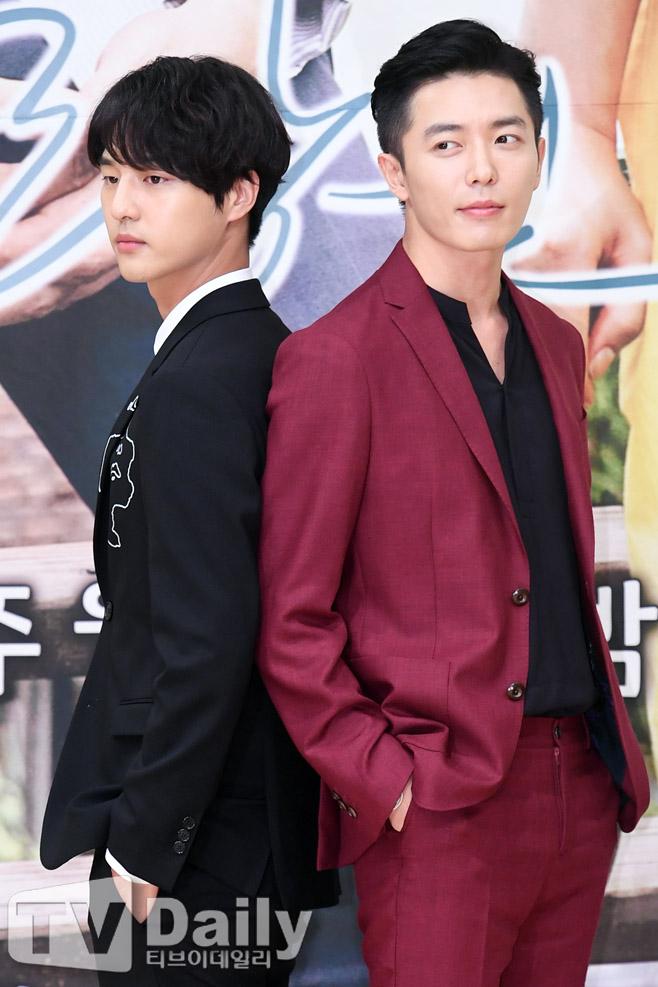 사랑의 온도 제작발표회 양세종(왼쪽) 김재욱(오른쪽)