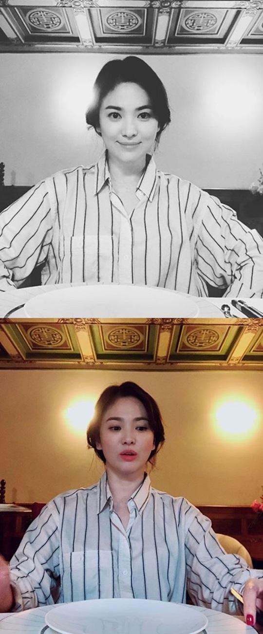 송혜교 근황