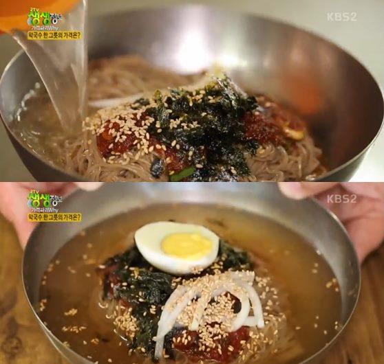 '2TV 생생정보' 물·비빔막국수vs청국장vs해물찜·탕vs고기·해물빈대떡 맛집 택시맛객