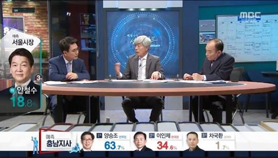 MBC 뉴스데스크, 배철수의 선거캠프, 유시민 배철수 전원책