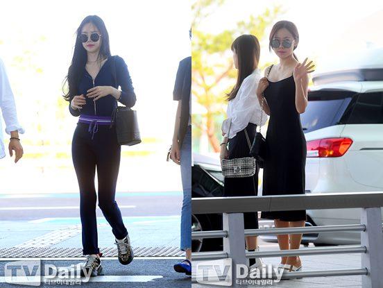 에이핑크 손나은 김남주 공항패션