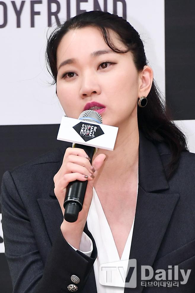 슈퍼모델 2018 서바이벌 제작발표회 장윤주
