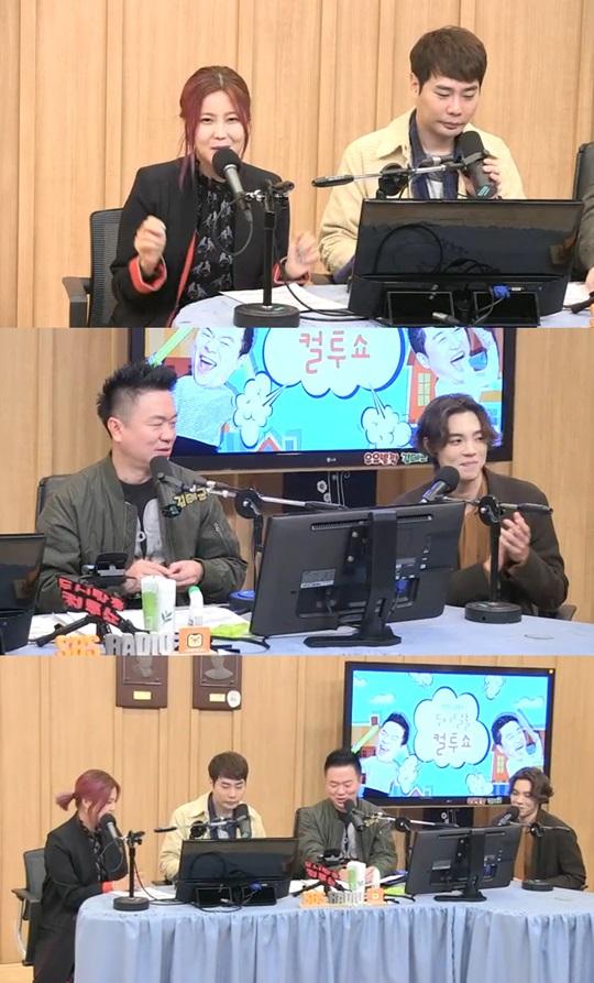 컬투쇼 DJ 김태균과 뮤지, 게스트 솔비와 에디킴