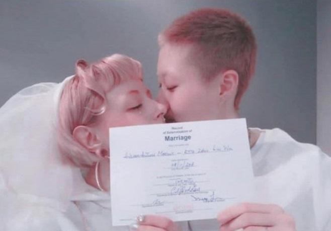 성룡 딸 우줘린 결혼