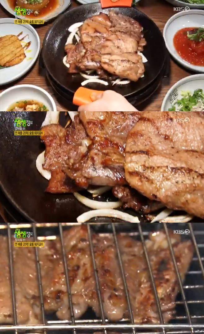 '2TV 생생정보' 숯불 돼지갈비 장사의 신 맛집, 연매출 20억 비결
