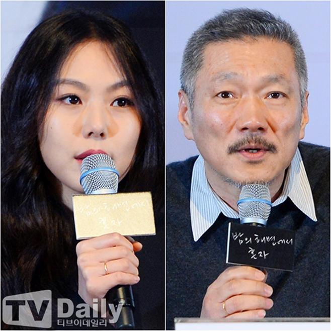 홍상수 감독, 배우 김민희