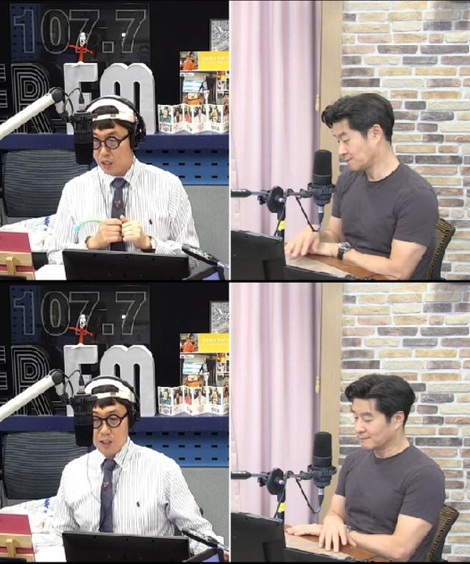 철파엠, 김상중