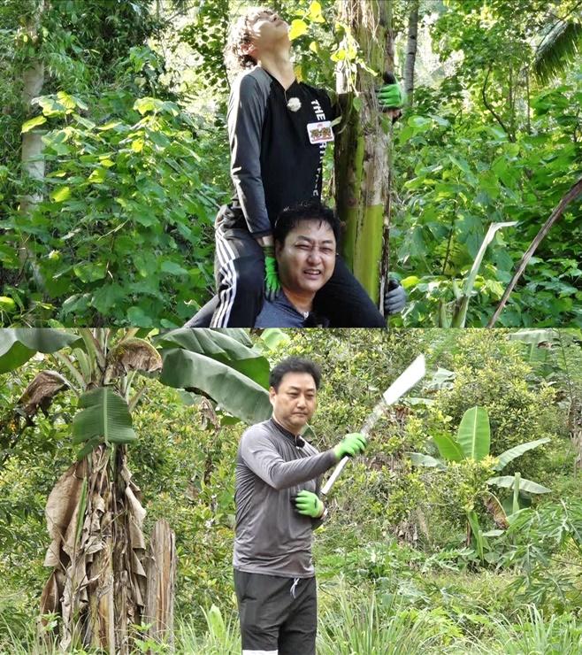 정글의 법칙 in 순다열도 김수용