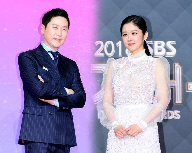 2019 SBS 연기대상 신동엽 장나라