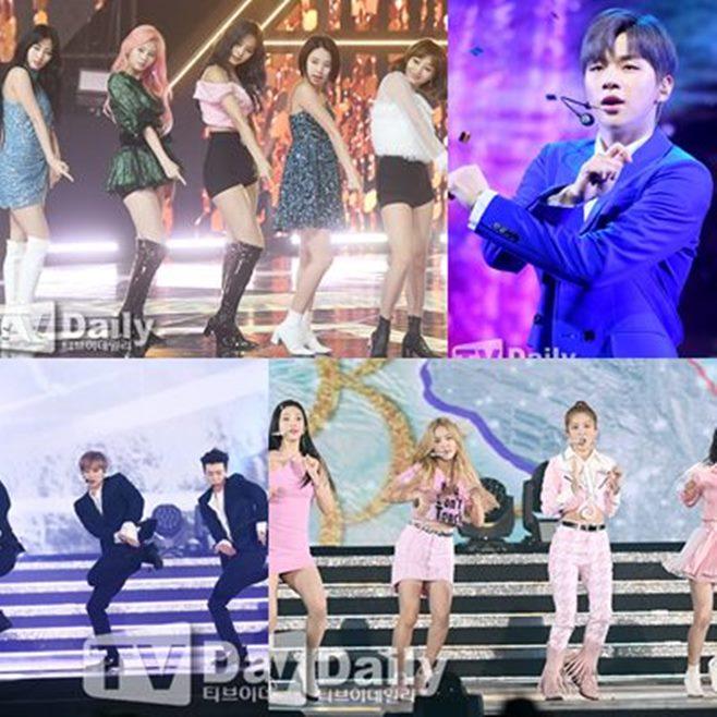 2019 AAA 트와이스 레드벨벳 슈퍼주니어