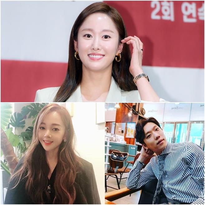 전혜빈, 김보미, 윤전일