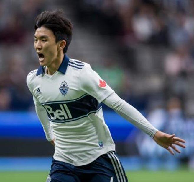 한국 일본 축구 중계 황인범 골 여자친구