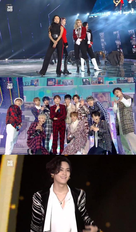 2019 SBS 가요대전, 마마무 세븐틴 갓세븐
