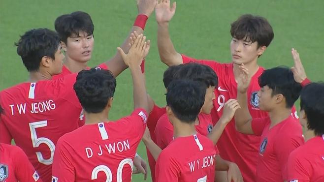 한국, 우즈벡, 도쿄올림픽축구 아시아 최종예산