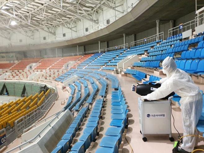 올림픽공원 스포츠센터 임시 휴관 실시