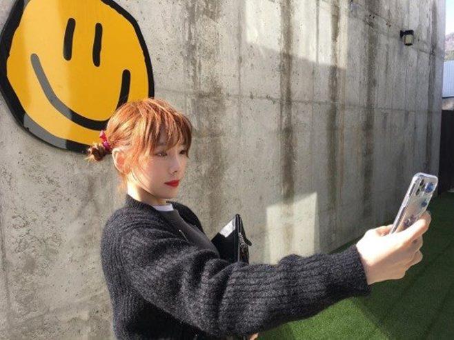 태연 인스타그램 부친상 사진 소녀시대