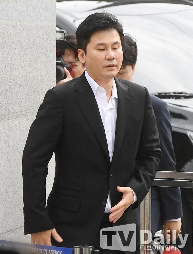양현석 구속영장 기각