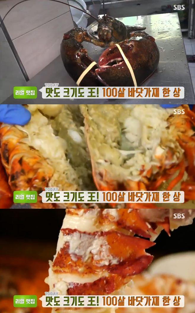 생방송투데이 바닷가재 요리 바닷가재찜 구이 해저도시 맛집