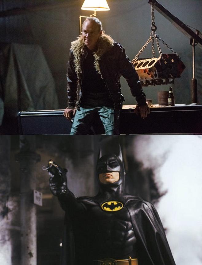 마이클 키튼, 더 플래시, 배트맨