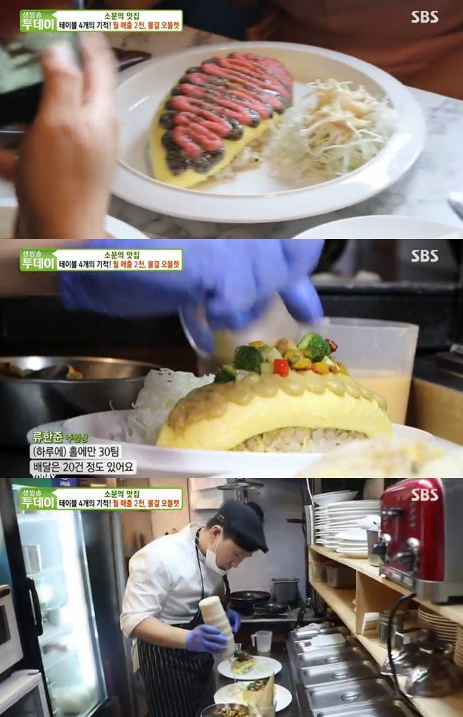 '생방송투데이' 물결오믈렛(에그머니)vs홍대 뚝배기떡볶이(열정떡볶이) 맛집