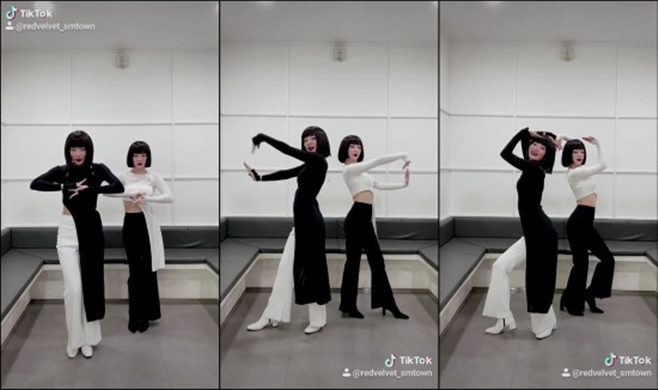 레드벨벳 아이린&슬기 놀이 안무 댄스