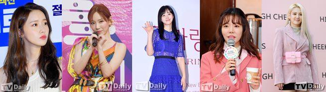 소녀시대 태연 윤아 유리 써니 효연 SM엔터테인먼트 재계약 수영 서현 티파니