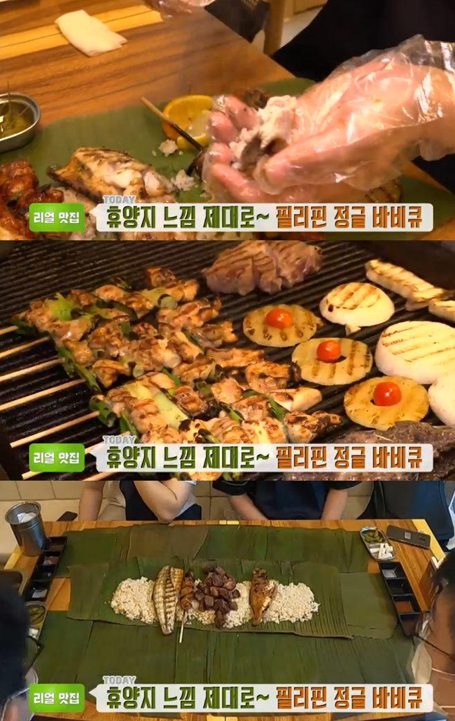 '생방송투데이' 인천 1미터초밥(익선)+버블초밥+부산 필리핀정글바비큐(부들파이터) 맛집