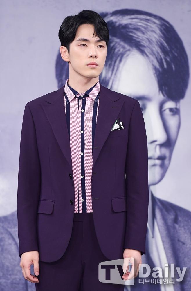 MBC 시간 제작발표회 당시 배우 김정현