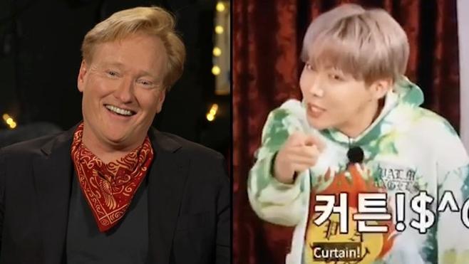 코난 오브라이언, 그룹 방탄소년단(BTS) 제이홉