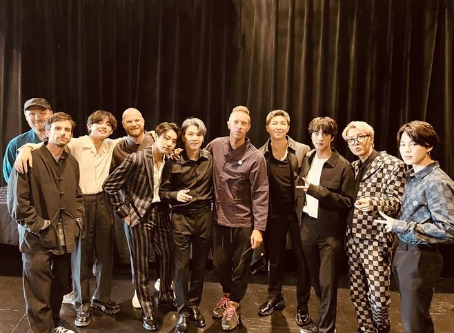 그룹 방탄소년단(BTS), 콜드플레이